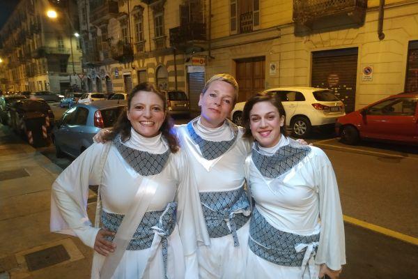 Les Pierrots à Turin